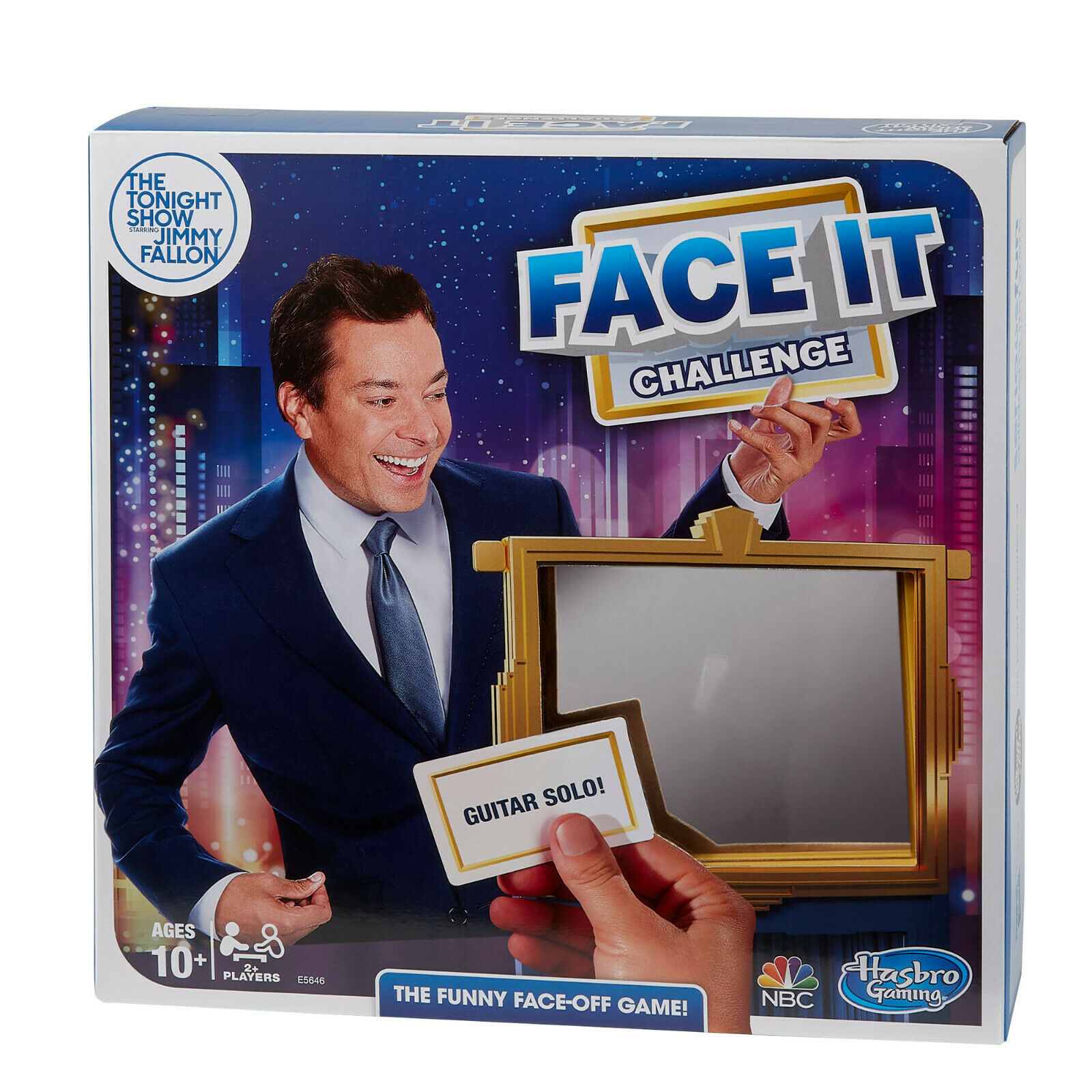 Primary image for NEW SEALED 2018 Hasbro Tonight Show Jimmy Fallon Face It Challenge Party Game