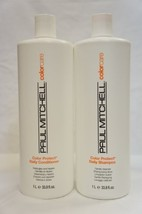 Paul Mitchell Color Protect Daily Shampoo and Conditioner Liter Duo 33.8 oz - $35.19