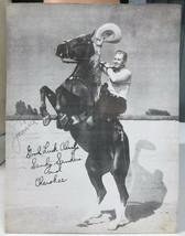 Sandy Sanders Cherokee VTG Autographed 8 x 10 Promo Photo - $32.15