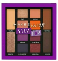 Maybelline New York Soda Pop Eye 12 Shadow Palette #110 SEALED - $6.99