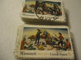 "US postage stamp lot #1426 Missouri 150th Anniv.""1971"" CV $25.00 FREE SH... - $3.99"