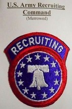 U.S. ARMY RECRUITING Command ( Merrowed ) LOT 70 - $5.87