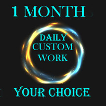 30 DAYS CUSTOM HIGH WORK YOUR CHOICE MAGICK 96 yr old Cassia4  - $228.00