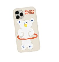 Brunch Brother Bear iPhone 11 Pro Slim Silicone Case Cover Protector Accessory