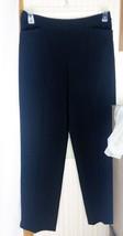 Talbots Womens Dress Pants Size 8 Black Stretch 3 Pockets Polyester/Rayo... - $16.61