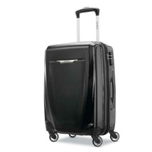 Samsonite Winfield 3 DLX Hardside Luggage with Spinner Wheels Black  - $145.04