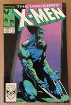 Uncanny X-Men #233 Marvel Comic Book from 1988 VF+ Condition BISHOP - $3.63