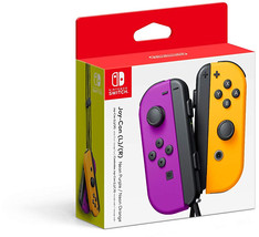 Nintendo Neon Purple/ Neon Orange Joy-Con (L-R) - Switch - $107.99+