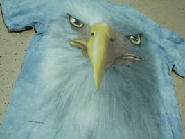 EAGLE EYES!! RARE!!!!! 2011 Vincent Hie BLUE Tie-Dye Large L T-shirt - $10.79
