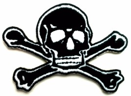 Skeleton Skull Embroidered Patches Iron Sew On Bag Cap Jeans Rock Jacket... - $2.77