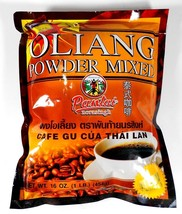 3 Bag of Thai Oliang Coffee Powder Mix by Pantai Brand 16-oz/1lb New In Bag - $26.68