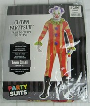 "Clown Partysuit Costume - Teen Small (up to 4'5"")  - A3129 - $24.99"