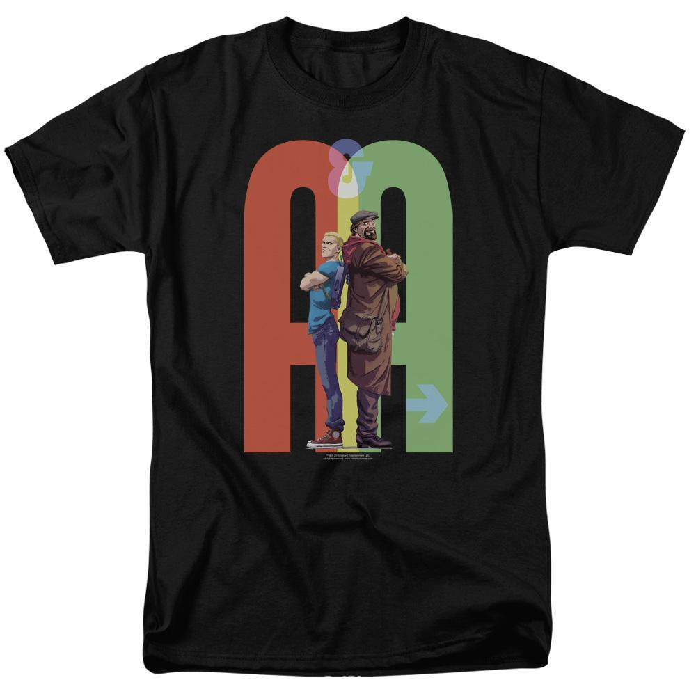 and woody ninjak  graphic tee shirt for sale online store  archer and armstrong val205 at 2000x