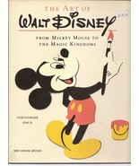 The Art Of Walt Disney HC From Mickey Mouse To The Magic Kingdom C Finch  - $7.95