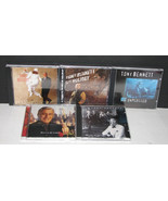 Lot of 5 Tony Bennett CDs Steppin' Out, Perfectly Frank, On Holiday - $14.98