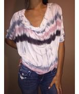 Fabulous and Broke Neiman Marcus 100% Rayon Short Sleeve Blouse sz S - $29.69