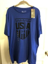 NWT Under Armour UA Men's Size XL, MEDIUM Freedom USA BLUE - $19.99