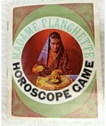 1967 Madame Planchette Horoscope Game Selchow & Righter Cards and Parts - $9.79