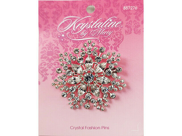 Mercy Krystaline Pin, Beautiful with Lots of Bling #857276