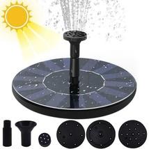 Mini Solar Water Fountain Pool Pond Waterfall Fountain Garden Decoration... - $18.56