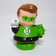 Fisher Price Little People GREEN LANTERN DC Super Friends Replacement Fi... - $3.50