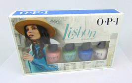 O.P.I  LISBON  4 Mini Nail Lacquer Collection 4 x 0.125oz/3.75ml NIB - $9.90