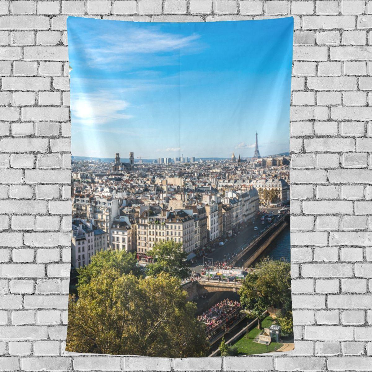 Notre Dame Home Decor: Art Decor For Walls Particluar Notre Dame De Paris Pattern