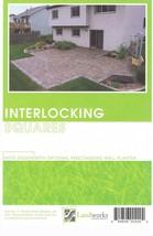 Landscape Plans Interlocking Squares Paver Layout Landworks Design Group... - $8.30