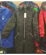 Ski Suit Nylon Winter Outwear Jumpsuit Woman Man Black Warm Snow Fur Hoo... - $59.00