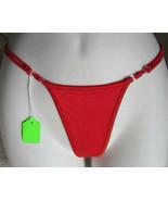 Red Leg Avenue Thong Panties One Size Adjustable Dancer Wear Polymide Sp... - $15.00