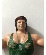 "Corporal Kirchner 8"" LJN Rubber Figure WWF Titan Sports 1986 WWE Leather... - $11.20"