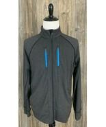 Lululemon Athletic Jacket Men's XL Dark Heather Grey Full Zip Stretchy H... - $39.58