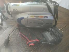 JVC GR-SXM250 VHS-C Analog Camcorder. Digital display has power cord no battery. - $53.22