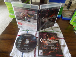 Castlevania: Lords of Shadow Collection CIB great shape PS3 Playstation 3 - $44.95