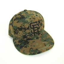 New Era SF Giants 59Fifty Authentic Collection MLB Fitted Hat Digi Camo ... - $18.88