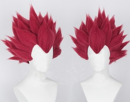 Dragon Ball Z Red Hair Vegeta Cosplay Wig - $73.00