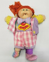 1986 Cabbage Patch Circus Doll  Clown Outfit Stripes & Plad - With Mask - $37.40