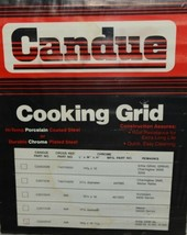 Candue C2002047 Replacement Cooking Grid Chrome Plated Steel image 2