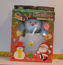 Axis International CUTE Lighted Christmas Wall Hanging Snowman Model 200... - $5.50