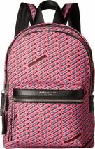 Marc Jacobs  NWT $225 Love Print Bubble Gum  Pink Backpack Bag Medium Nylon - $114.94