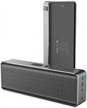 ROCK Deep Bass Hands-free Wireless Bluetooth 4.0 Gray Speaker With NFC a... - $73.00