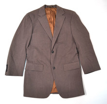 Hugo Boss Maxwell Brown Two Button Blazer Jacket Brown 40 R Mens - $79.20