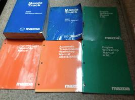 2002 Mazda Pickup Truck Service Repair Workshop Shop Manual Set W EWD + Engine B - $72.22