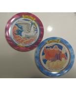 McDonalds 1997 Vintage Hercules Plates Megara Zeus Pegasus Set Of 2 Disney - $21.77