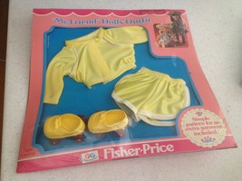 Vintage Fisher Price My Friend Mandy Jenny Doll  Roller Skating Outfit -... - $37.39