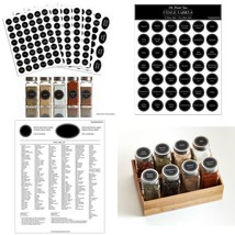 Hayley Cherie - 300+ Printed Spice Jar And Pantry Label - Chalkboard 1.5... - $12.88