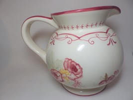 Waverly Garden Room Pitcher Vintage Rose Large 96 Ounce - $29.69