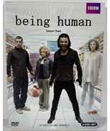 Being Human: Season Three (DVD, 2011, 3-Disc Set) BBC America - $6.92