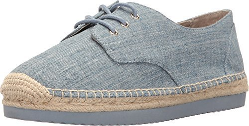 MICHAEL Michael Kors Women's Hastings Espadrille Sneakers, Washed Denim, 8.5 B(M