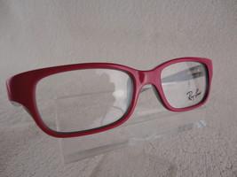 Ray Ban Junior  RB 1527 (3575) Pink / Grey  47 X 15 125mm Kids Eyeglass Frame - $42.04